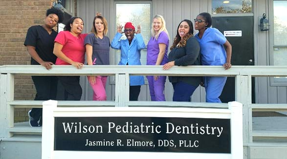 Staff photo for local pediatric dentist in Wilson, NC: Wilson Pediatric Dentistry.