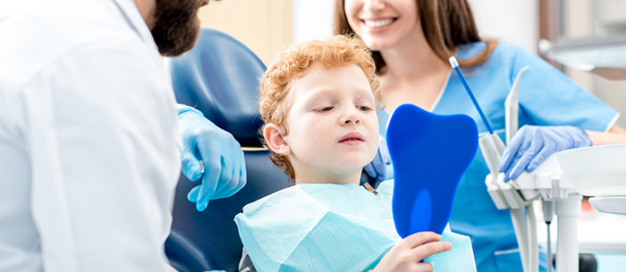 Image result for take child to a dentist