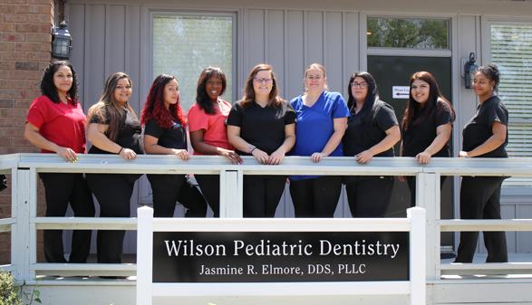 Staff photo for local pediatric dentist in Wilson, NC: Wilson Pediatric Dentistry.