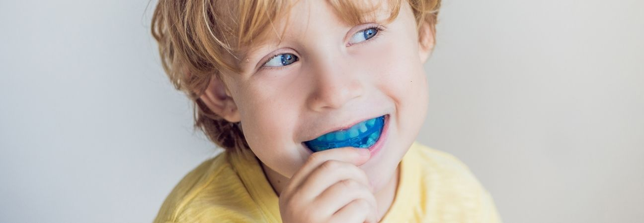 early orthodontic care child mouthguard wilson nc